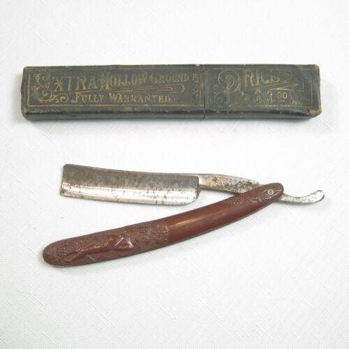 Antique Oxford Razor Germania Cutlery Works, Germany Decorative Handle RARE!