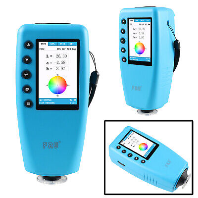 Portable Color Analyzer Digital Colorimeter Color Difference Meter Tester 8mm