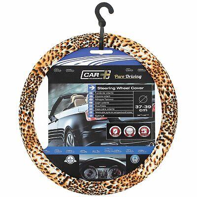 SUMEX 2505067 Carplus - Copri Volante Tessile Leopard Look 37-39 cm