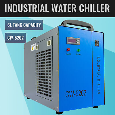 Cw-5202 Industrial Water Chiller For 60-150w Co2 Laser Tubes Factory Equipment