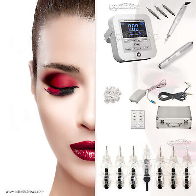 Permanent makeup Digital Gerät Set Handstück Swissmotor Microneedling/Pmu