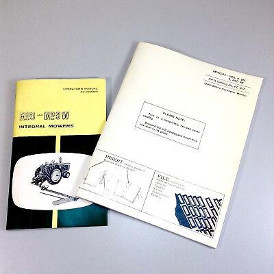 Operators Parts Manual For John Deere 9 Sickle Bar Mower Owners Catalog Integral