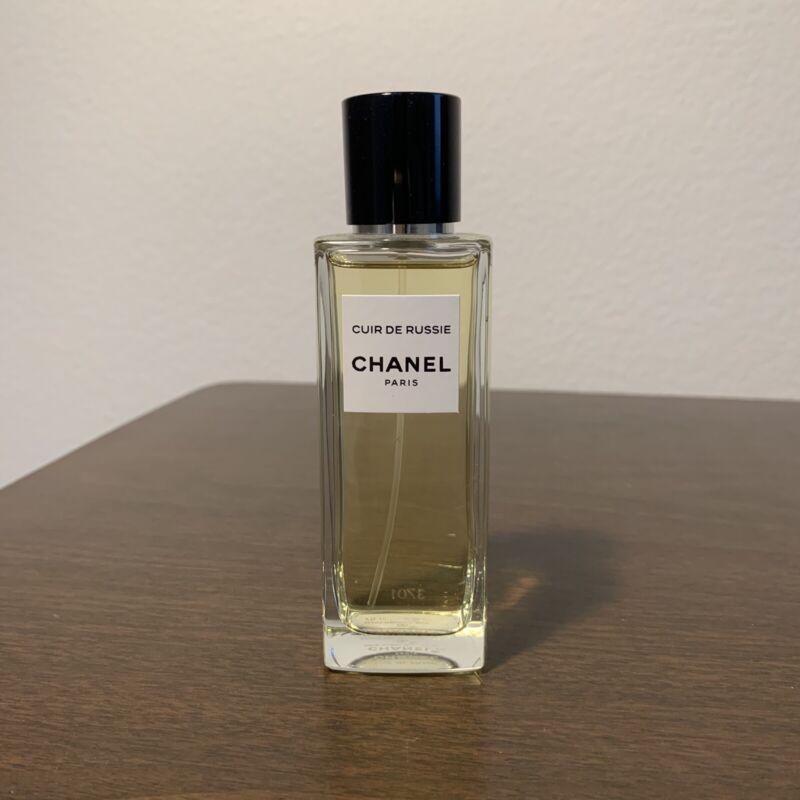 Chanel Cuir de Ruisse Eau de Parfum 75ml-2.5oz RARE 95% Full