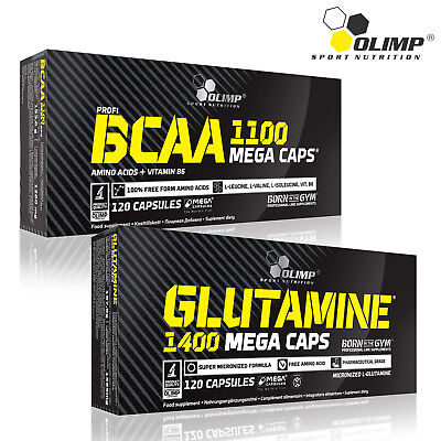 BCAA AMINO ACIDS + GLUTAMINE Recovery Pills Supplement Muscle Gains Whey Protein