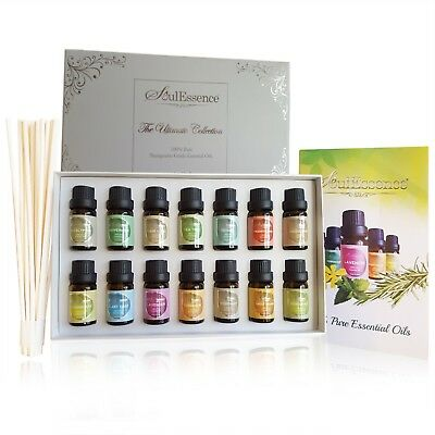 SoulEssence® 'Ultimate Collection' Essential Oils Gift Set Starter Pack 14 oils