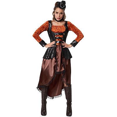 Kostüm Damen Steampunk Prinzessin Gothic viktorianisch Retro Fasching Karneval
