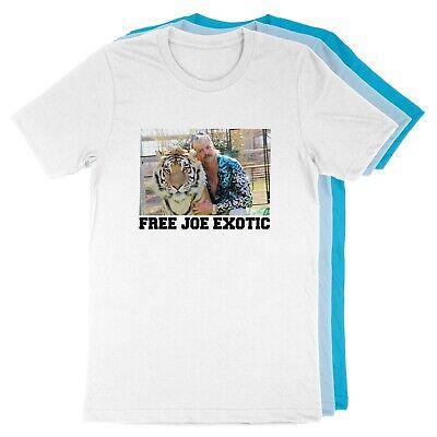 Joe Exotic Tiger King Funny Free Joe Exotic TV Show Unisex T-Shirt Solid Unisex T-shirt