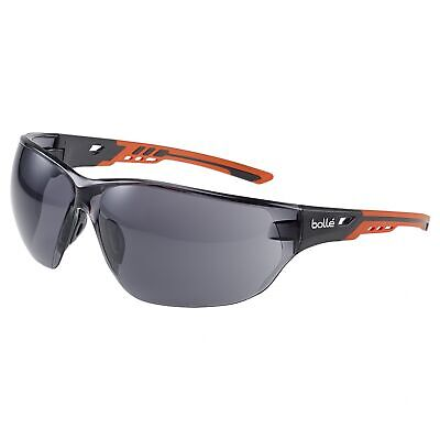 Bolle Ness Safety Glasses With Smoke Anti-fog Lens
