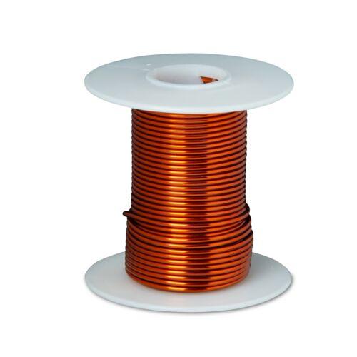 18 AWG Gauge Enameled Copper Magnet Wire 4 oz 50