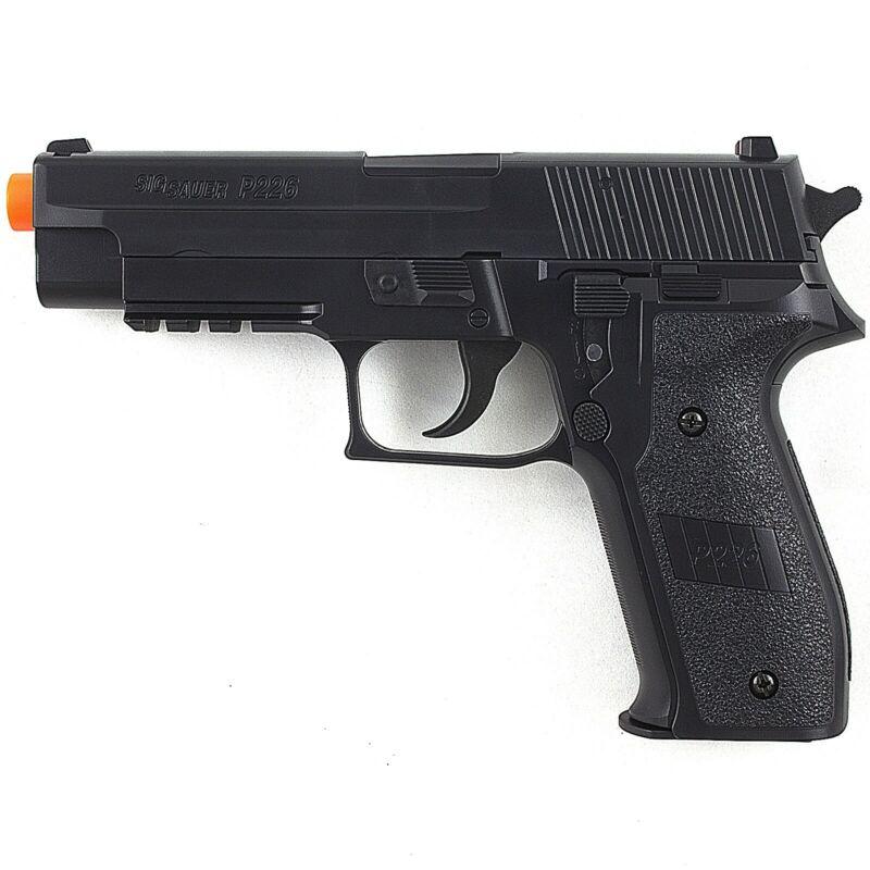 300 FPS SIG SAUER P226 LICENSED SPRING AIRSOFT PISTOL HAND GUN w/ 6mm BB BBs
