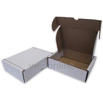 10 x Small Die-Cut Postal Mailing Cardboard Boxes 7 x 5.5 x 2