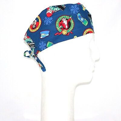 Christmas & Polar Express Theme Scrub Hat