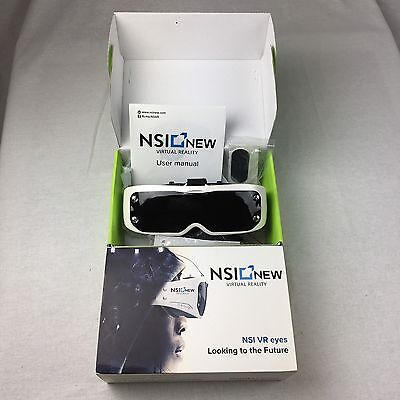 NSI Virtual Reality Headset Best 3D VR Virtual Reality Glasses HD Immersion