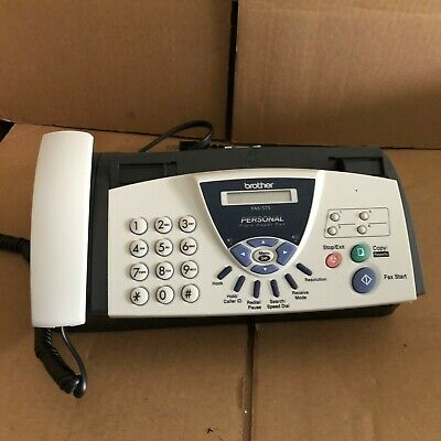 Brother Fax-575 Personal Fax With Phone And Copier. Works