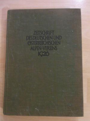 Zeitschrift des deutschen und österreichischen Alpen-Vereins von 1926