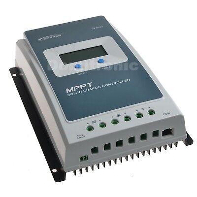 20A 10A Epever MPPT Solar Charge Controller 12V/24V Battery Regulator Max PV 60V ()