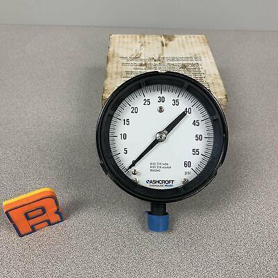 Ashcroft 202a244-67 Pressure Gauge 0-60psi