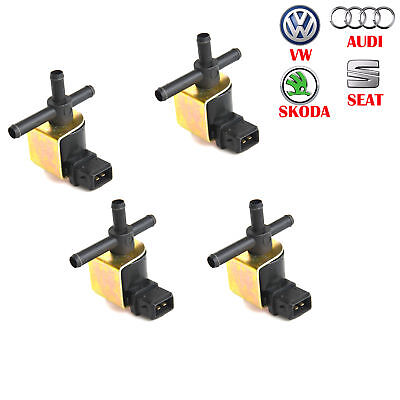 4x Für Audi VW Ladedruckregelventil Magnetventil 1.8T N75 06A906283E / C gebraucht kaufen  Bremen