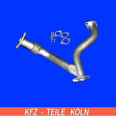 Opel Frontera B 3.2 Exhaust System Pipe Y-Branch Flexi + Assembly Kit