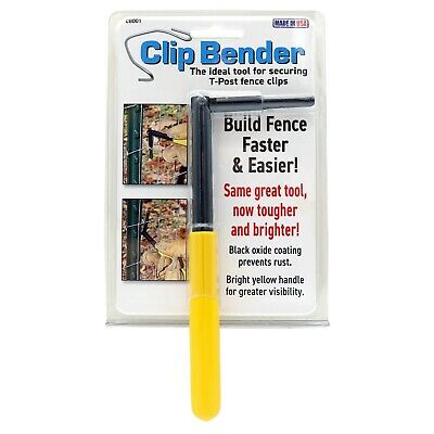The Clip Bender Ultimate Fencing Tool T Post Clips