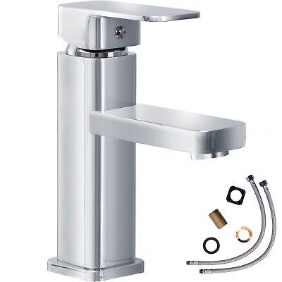 Rubinetto monocomando miscelatore rubinetteria lavabo bagno piazza cromata