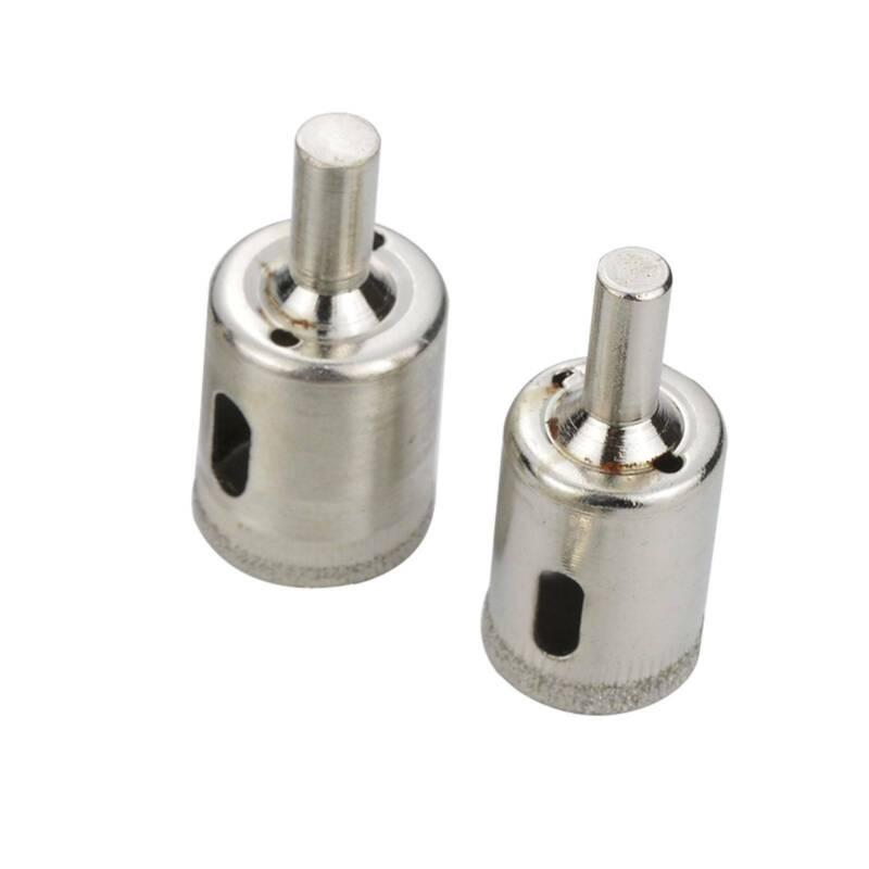 10 Stück Glasbohrer Fliesenbohrer Lochsäge Kernbohrer Diamantbohrer 8-50mm Glass