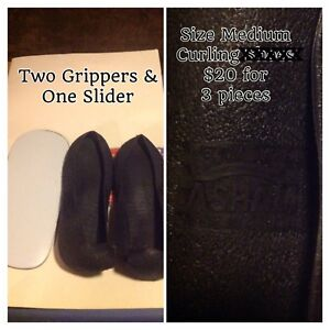 Curling gripper/slider
