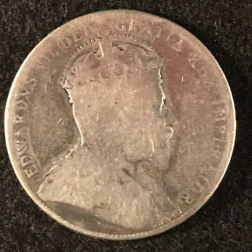 1904 Canada Fifty Cents About Good (cleaned) Semi Key Date