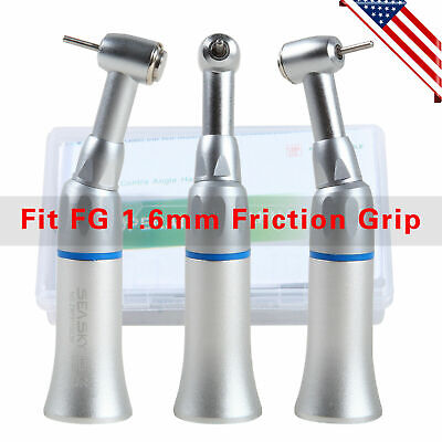 Dental Low Speed Push Contra Angle Handpiece Fit Nsk Fg 1.6mm Friction Grip Usa