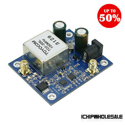 Phase Locked Crystal Oscillator 100mhz Low Phase Noise Double Frequency
