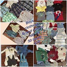 Boys clothes - NB - 0 Bulk lot 50 items Emu Plains Penrith Area Preview