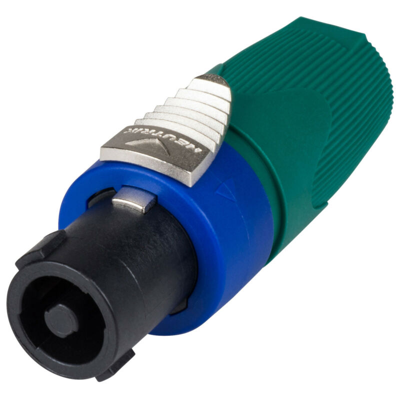 Neutrik NL4FX-5 Speakon SPX 4-Pole Cable Connector with Gree