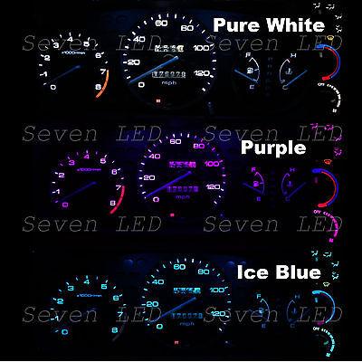 Honda Civic EK 99-00 1999 2000 Gauge Cluster and Climate Control  LED Kit