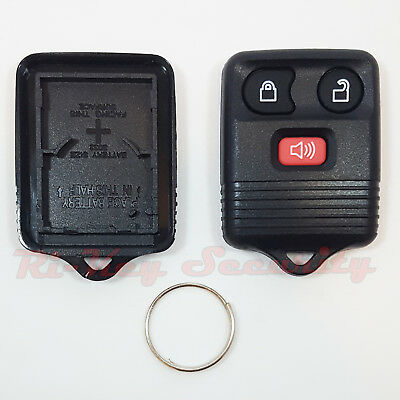 Empty Remote Alarm Replacement Shell Case For Ford 3 Buttons Keyless Entry Fob