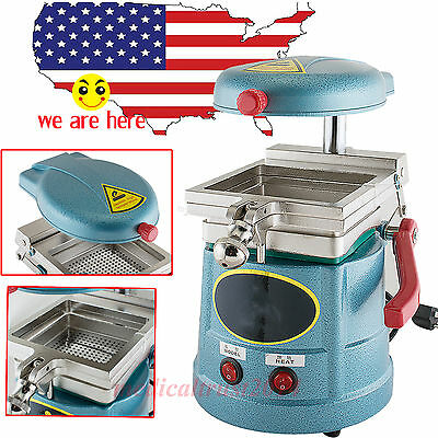 2x Dental Vacuum Forming Molding Machine Former Heat Thermoforming Lab Equipment