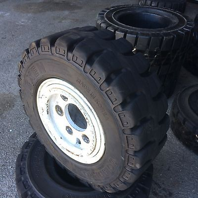 18x7-8 Forklift Solid Rubber Traction Tire 18x7x8