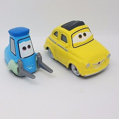 Disney Pixar World of Cars 3 Luigi and Guido NEW 1:55 Loose No Pack (Guido Cars)