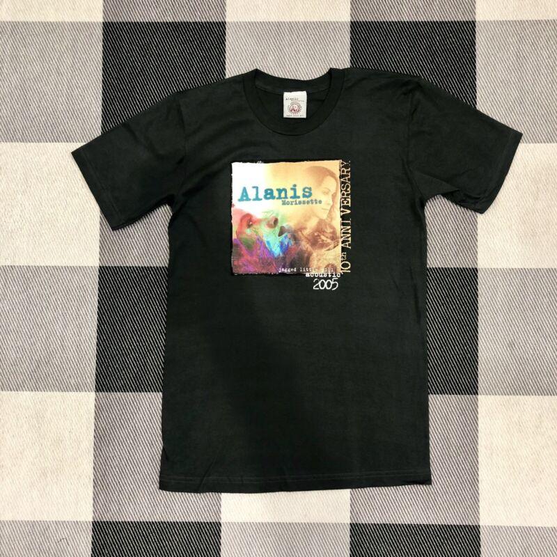 Alanis Morissette Jagged Little Pill 10th Anniversary Tour T-Shirt New Small