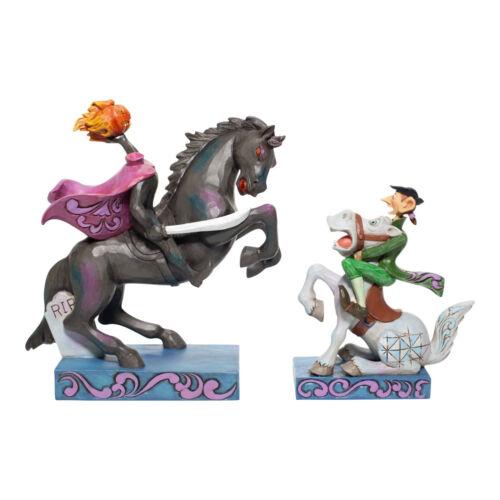 Disney Traditions Jim Shore The Headless Horseman & Ichabod Crane Figurine Set