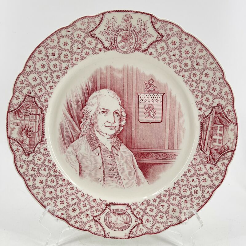 "Phillips Exeter Academy ""John Phillips"" Cabinet Plate Royal Cauldon England 10"""