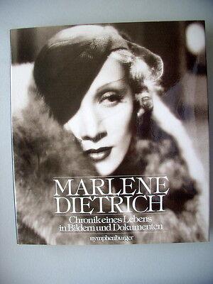 Marlene Dietrich Chronik eines Lebens in Bildern und Dokumenten1989