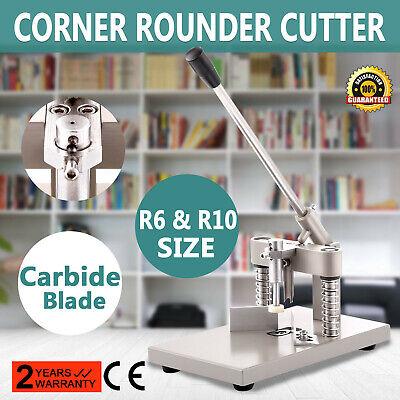 Manual Rounder Corner Cutter Cutting Machine R6r10 For Documents Certificates