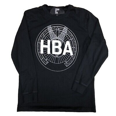 Hood By Air Compas Long Sleeve Shirt HBA Size Large