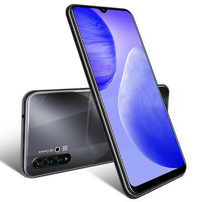 Android Phone - 2021 6.6 Inch Android 9 Smartphone Unlocked Mobile Phone Dual SIM Quad Core 5MP
