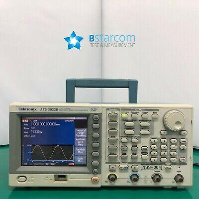 Tektronix Afg3022b Arbitraryfunction Generator 25 Mhz 2 Channel