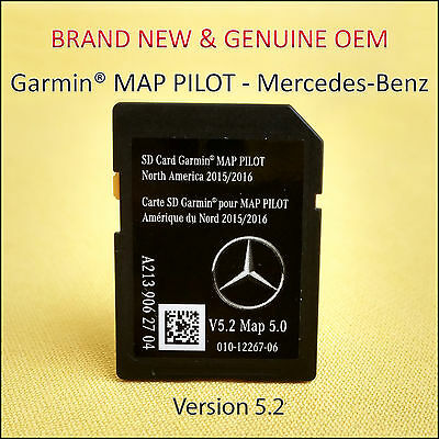 SD Card Garmin Map Pilot 2018 North America Mercedes-Benz Navigation A2139062704