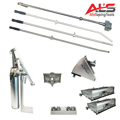 Pro Platinum Drywall Tools Finishing Set Of W 8 And 12 Flat Boxes