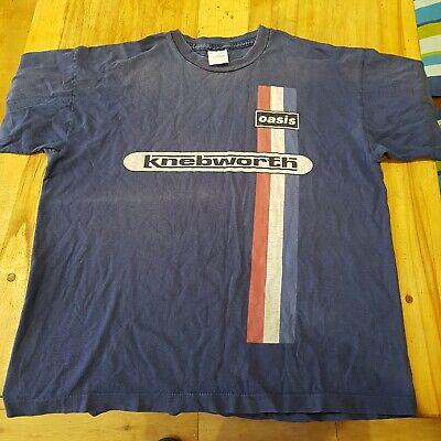 Usado, Vintage Oasis Knebworth T-Shirt 1996. XL  comprar usado  Enviando para Brazil