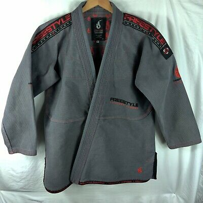 Freestyle Customs Kimono Men's Series Jiu Jitsu Gis Size A3