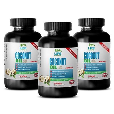 protect your skin - Virgin Coconut Oil 3000mg 3B - repair hair damage